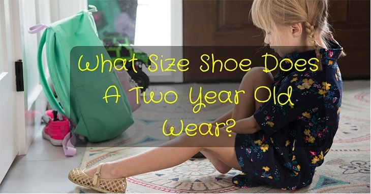 shoe size two year old