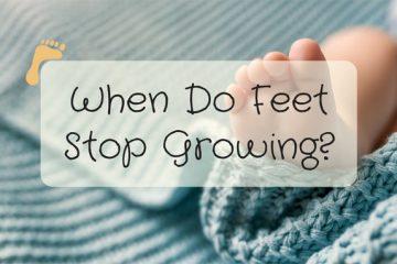 feet stop growing